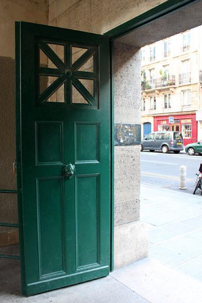 Arènes de Lutèceのドア