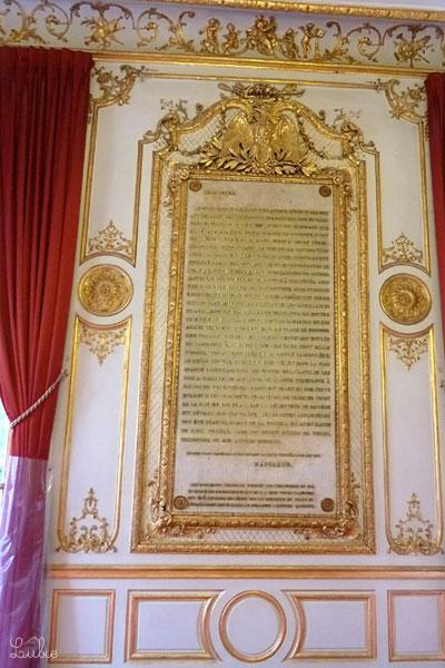 元老院に宛てたナポレオンのメッセージ。