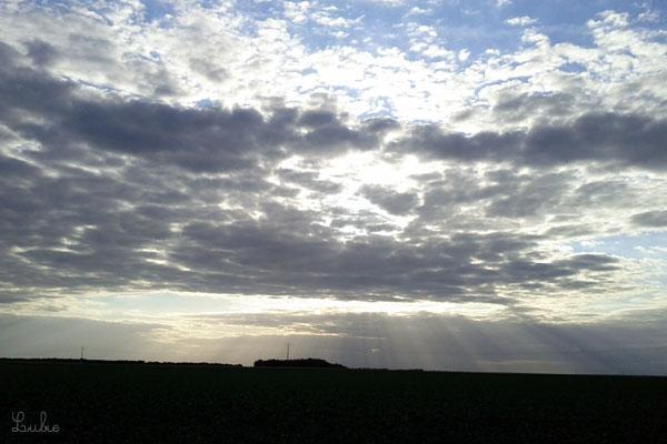 空一面にさぁっと広がる、大きな光のカーテン。