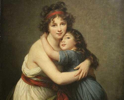 Madame Vigée-Lebrun et sa fille