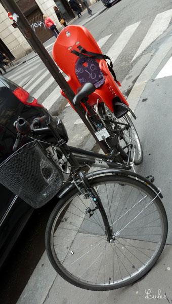 自転車チャイルドシート