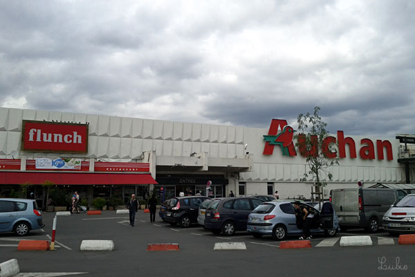 スーパー Auchan