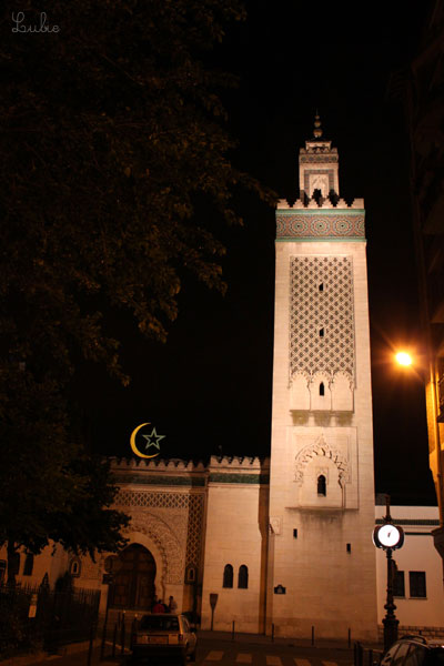 mosque' illumine'e