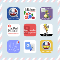 iOSフランス語辞書他アプリ14個*仏仏・仏英・仏西、動詞活用etc.