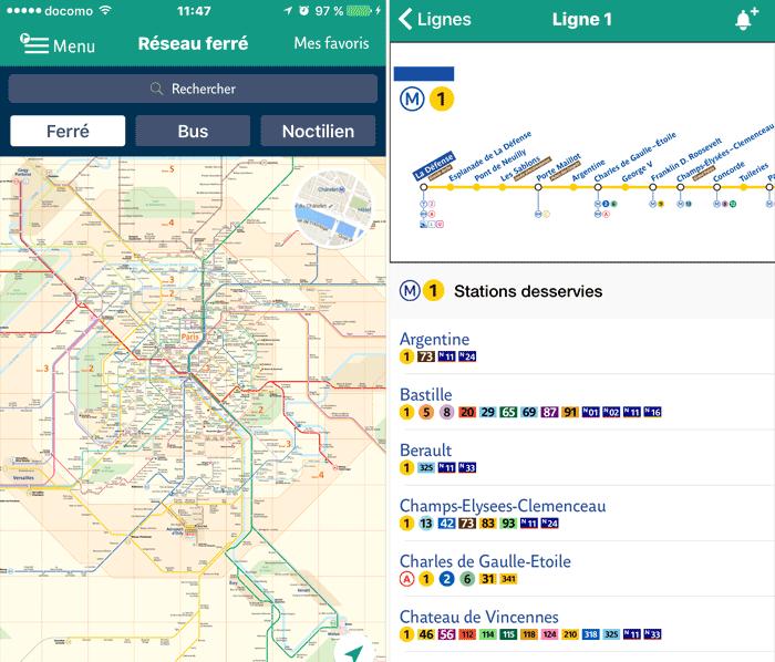 RATP 路線図