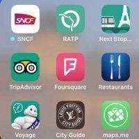 フランス旅行・生活に便利なiOSアプリ10:ガイド,乗換案内,マップetc.