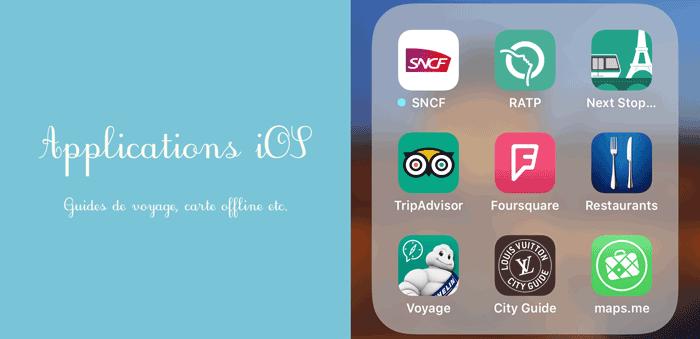 フランス旅行・日常生活で使えるアプリ