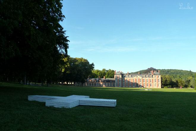 シャマランド城と庭