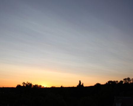 明るい夜9時 ile-de-France