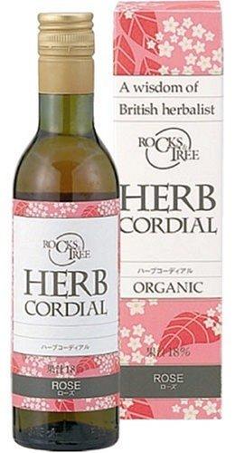 Rocks&Tree Herb Cordial (Rose), organic