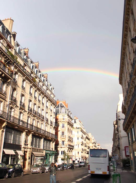Arc en ciel @ Paris