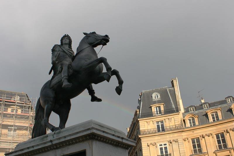 Arc en ciel - Place des Victoires