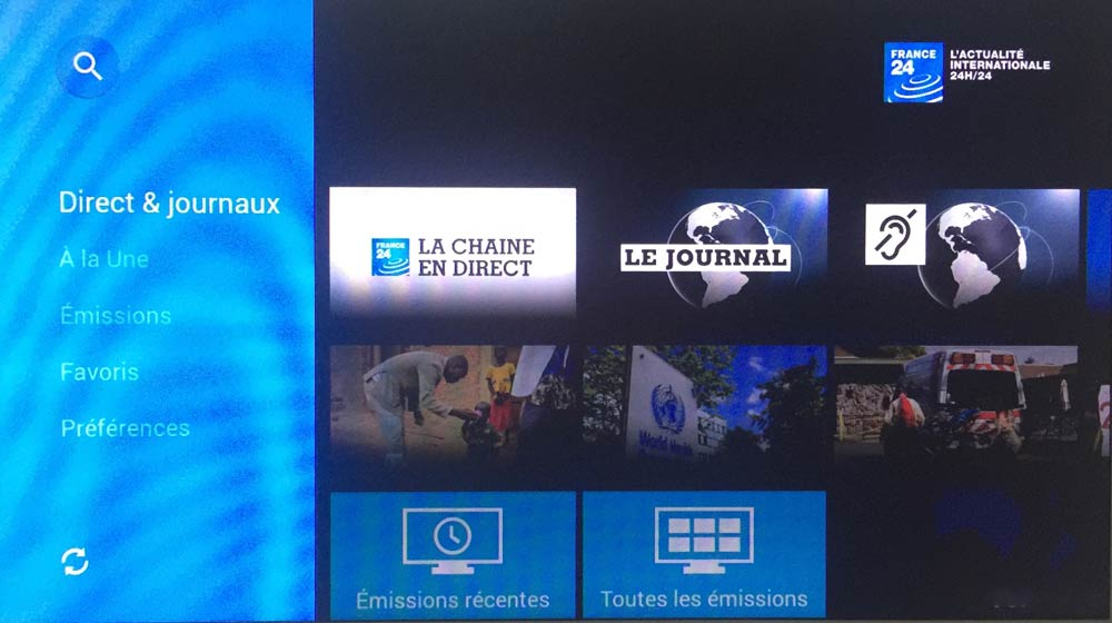 Amazon Fire TV - France24
