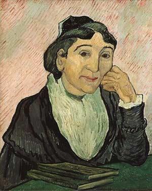 L'arlesienne par Van Gogh
