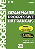 Grammaire progressive du français - Niveau avancé - Livre + CD