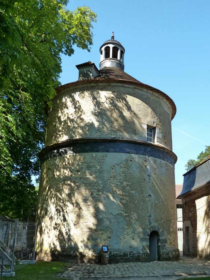 フランス 伝書鳩小屋
