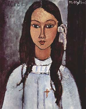 Alice par Modigliani