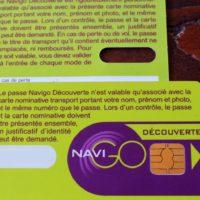 NAVIGO ナヴィゴ:フランスパリと周辺用の電車バス乗り放題定期券