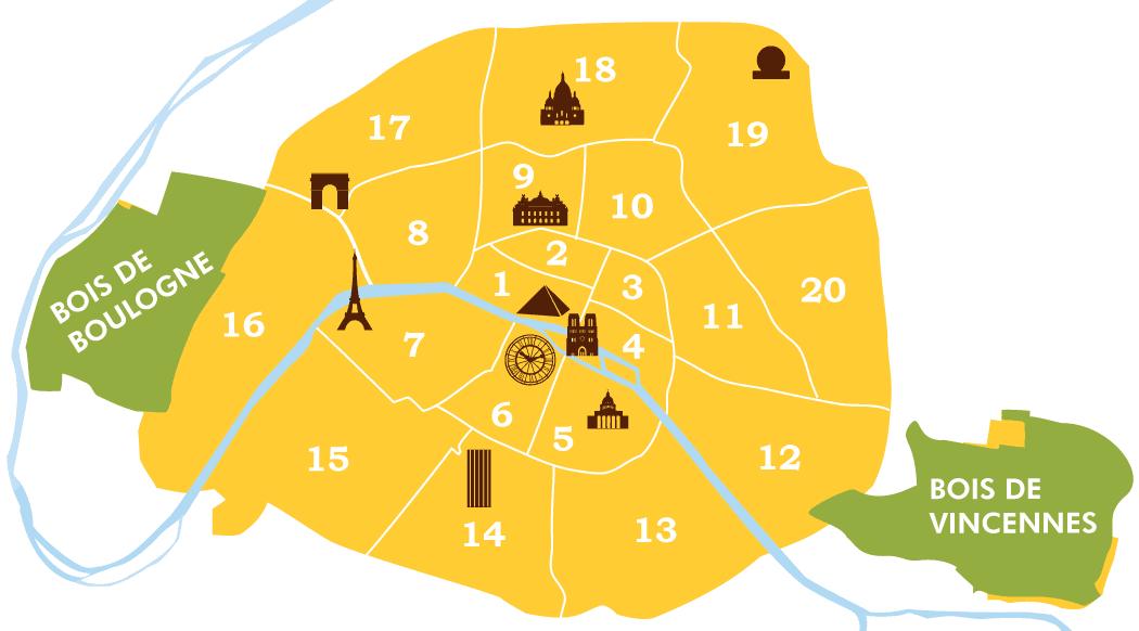 パリ20の区