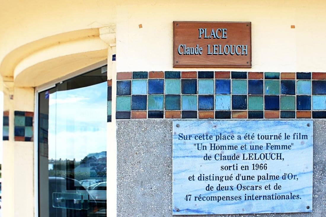 Place Claude Lelouch @ Deauville