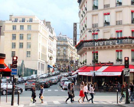 Rue Cardinal Lemoine パリ