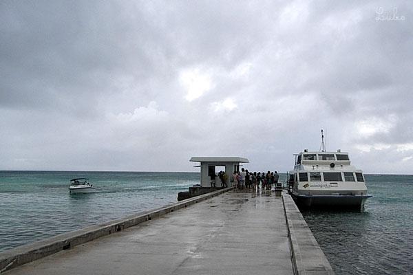 Arrivée à Mañagaha - Saipan