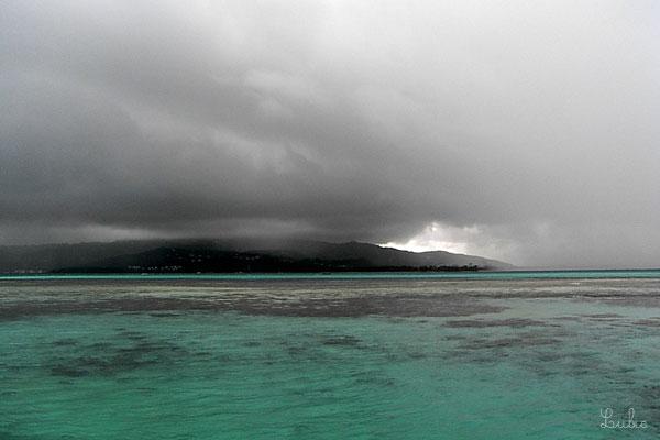 Temps nuageux - Saipan
