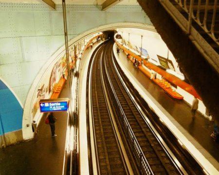 パリ地下鉄線路