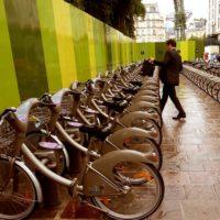 パリのレンタル自転車VELIB'*使い方、アプリ、料金